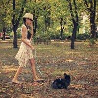 В парке с кроликом :: Gamza ..