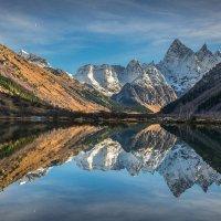 гора Чотча и озеро Туманлы-Кёль :: anatoly Gaponenko
