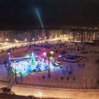 Чудо-Юдо град в городе Губкин :: Михаил Фенелонов