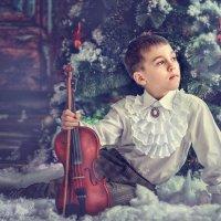 Мальчик и скрипка :: Еления Харченко
