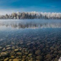 Январским утром на реке :: Sergey Oslopov