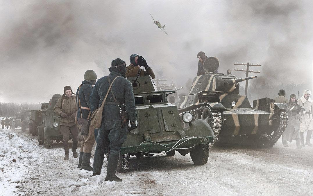 Передовой отряд... - Борис Соломатин