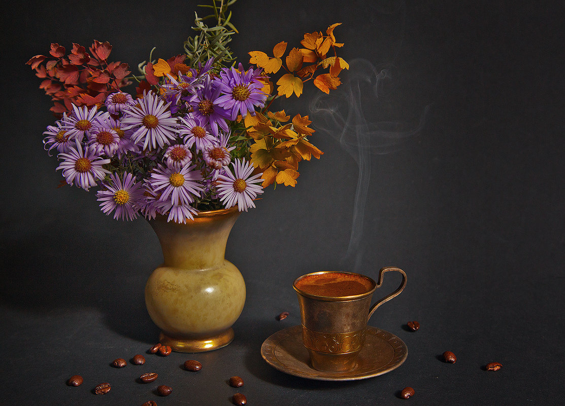 кофе..в августе.. - зоя полянская