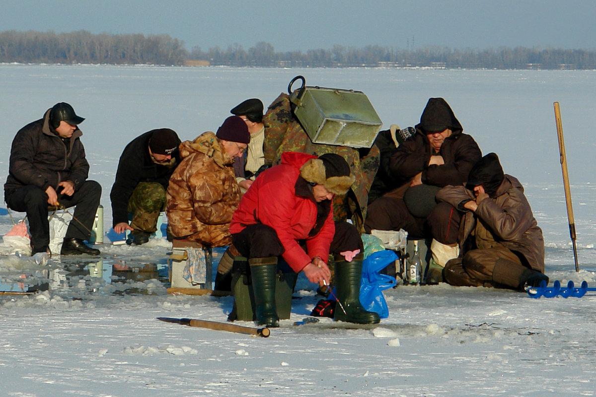 рыбалка на тихой радости