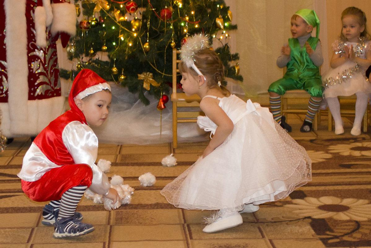 Конкурсы для детских новогодних утренников
