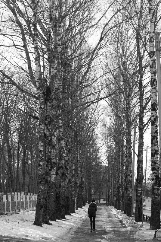 В парке - Надежда Мартюшева