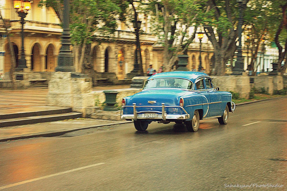 Blue car - Arman S