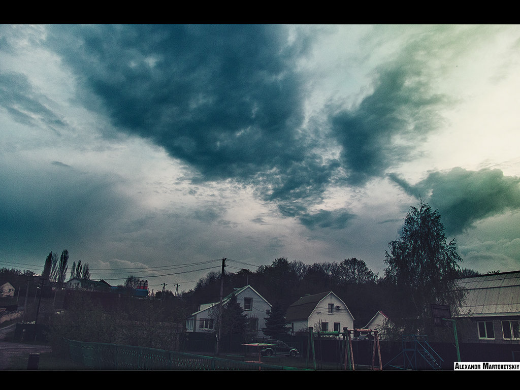 Весеннее небо - Александр Мартовецкий