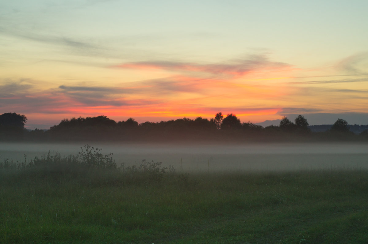 закат с туманом - Азат Мустафин