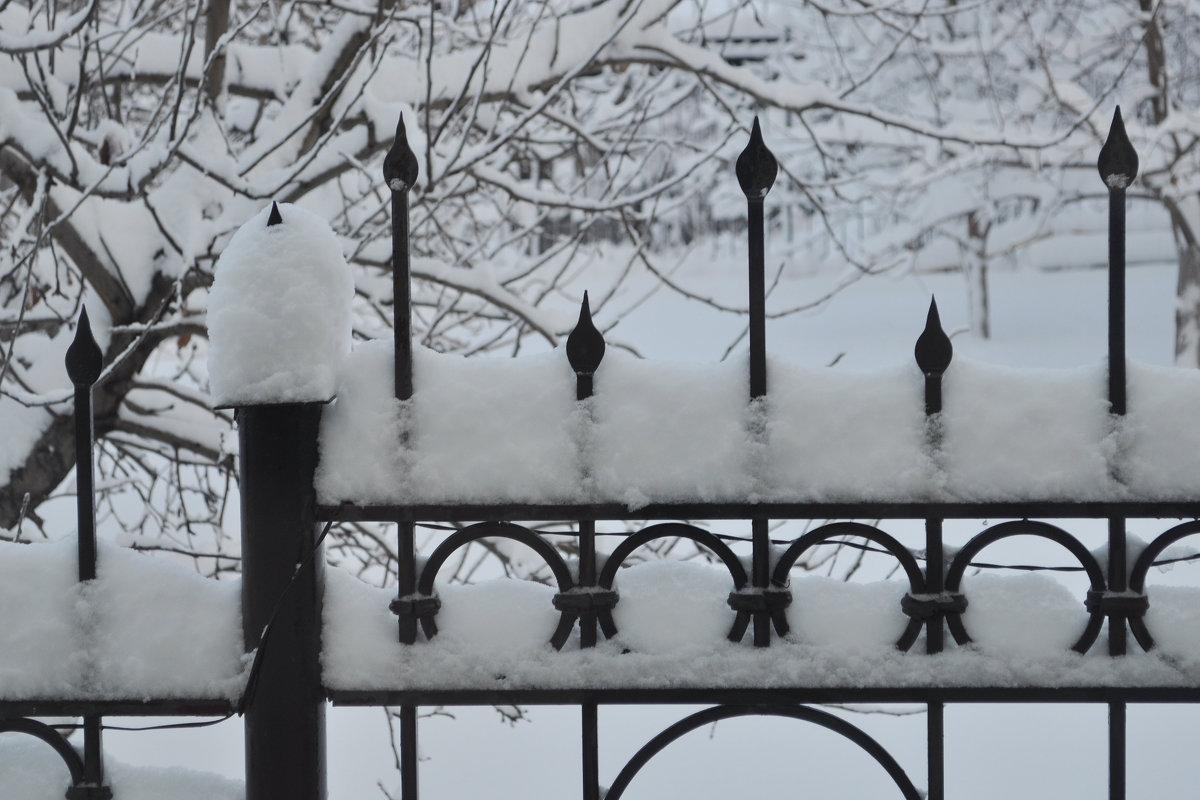 Ограда кованная - sarachai