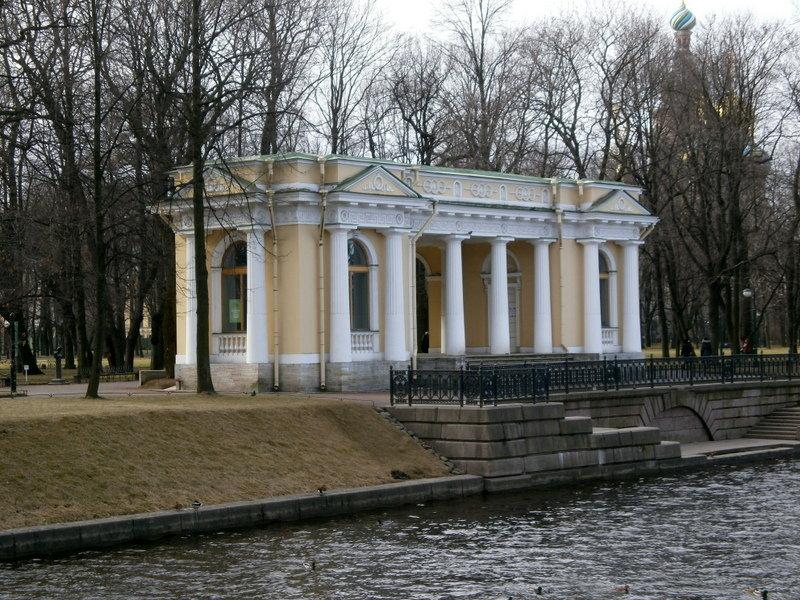 Павильон Росси в Михайловском саду. - Валентина Жукова