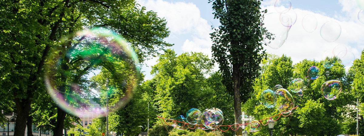 Bubble rain, Хельсинки, Финляндия - Yuliya Kalinovskaya