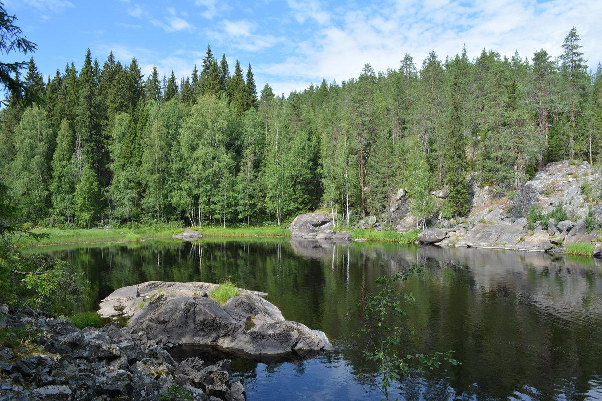 Лесное озеро (ламба) - Ирина Михайловна