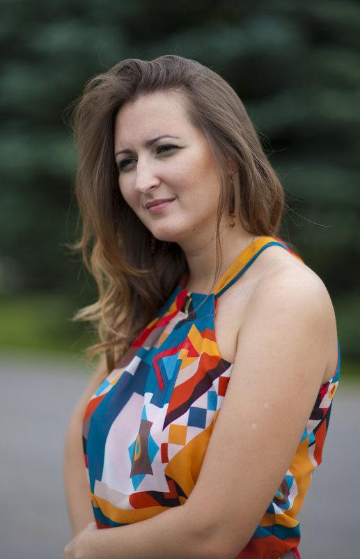Красивая женщина. - Константин Вавшко