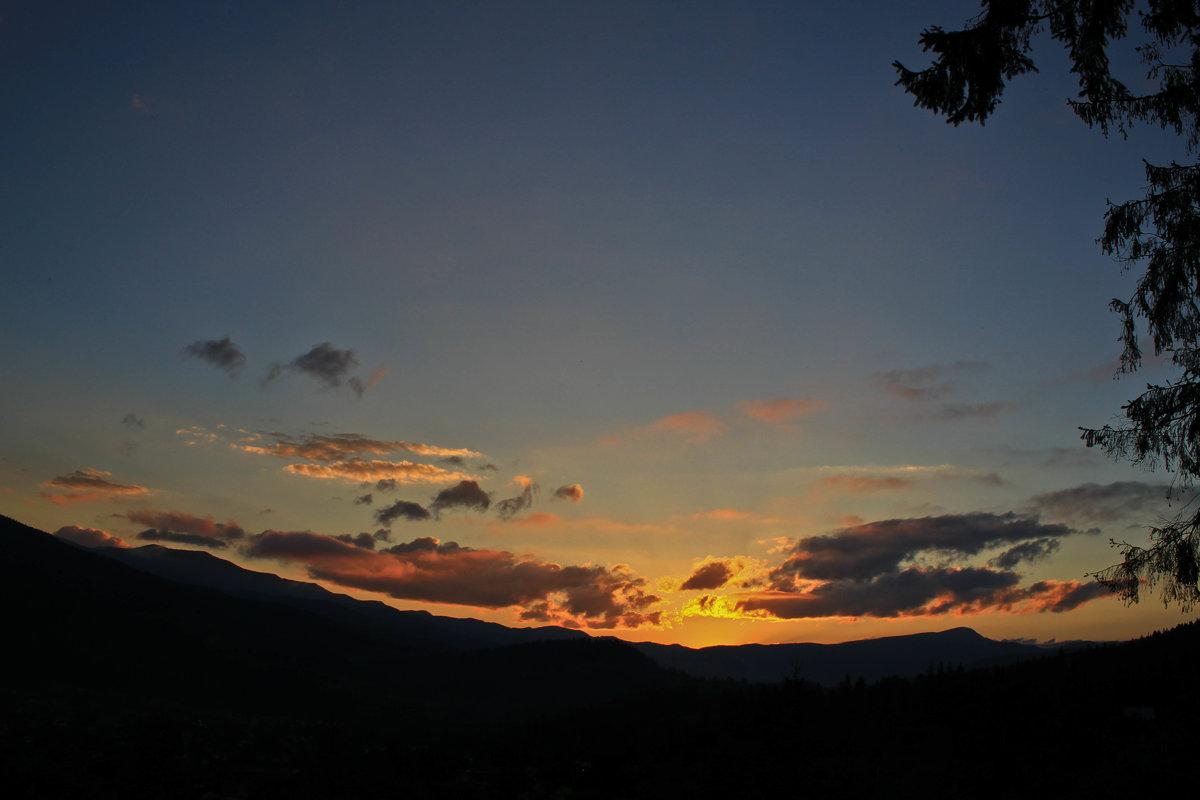 amazing sunset - krystyna
