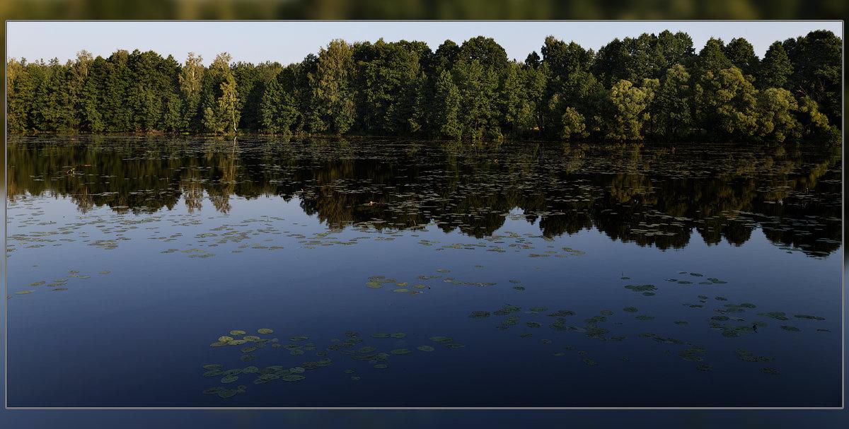 Рассвет на озере - serg Fedorov