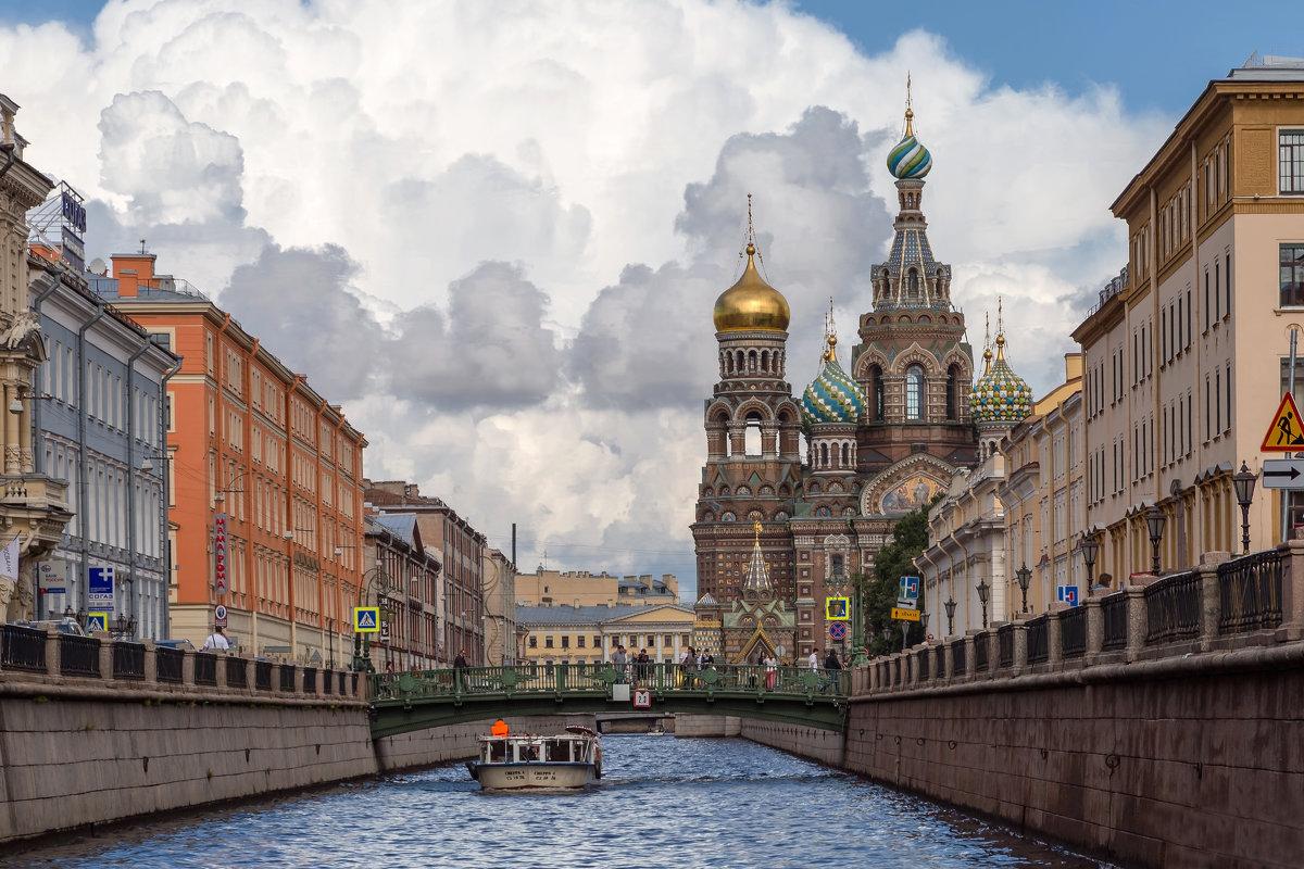 Собо́р Воскресе́ния Христо́ва на Крови́ или Храм Спа́са-на-Крови́ в Санкт-Петербурге - Александр Дроздов