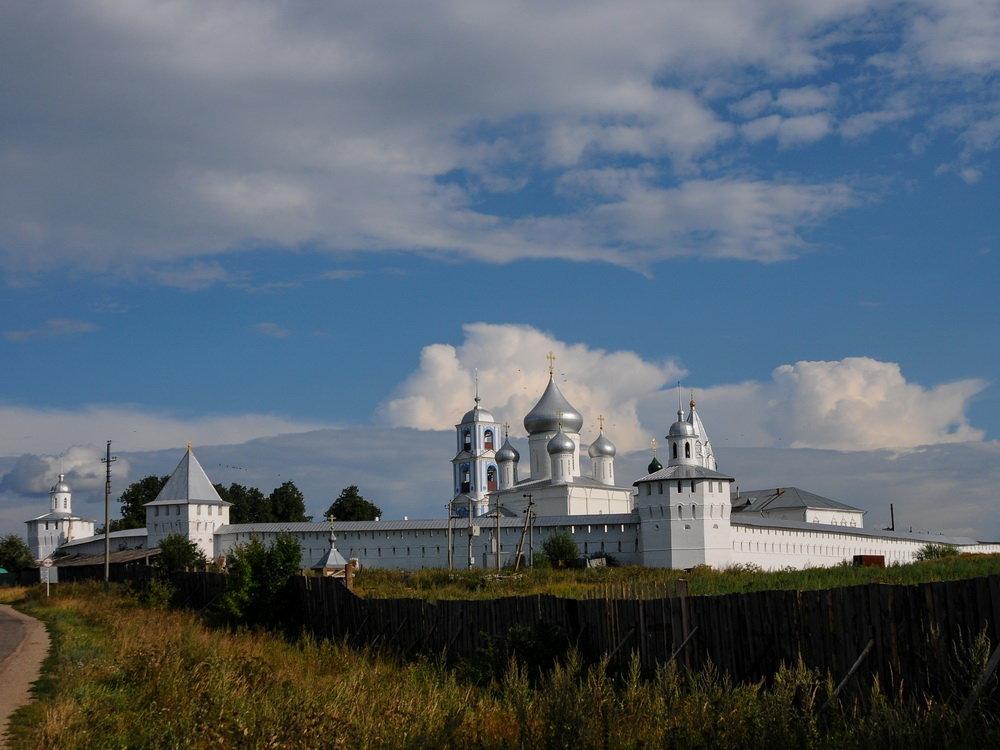 Пейзаж с монастырём. - Александр Степовой