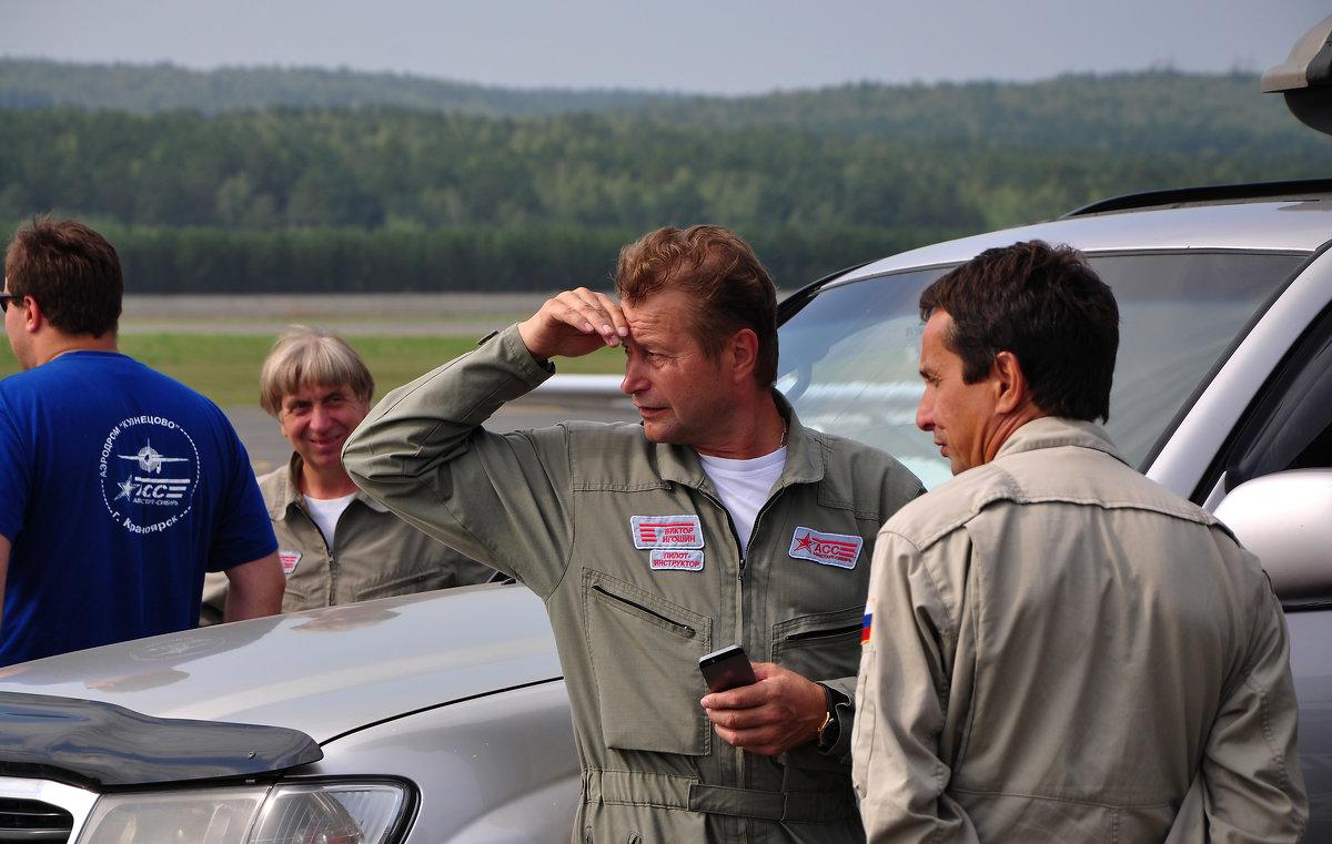 картинки с Авиашоу в Красноярске-1, пилоты - Ларико Ильющенко
