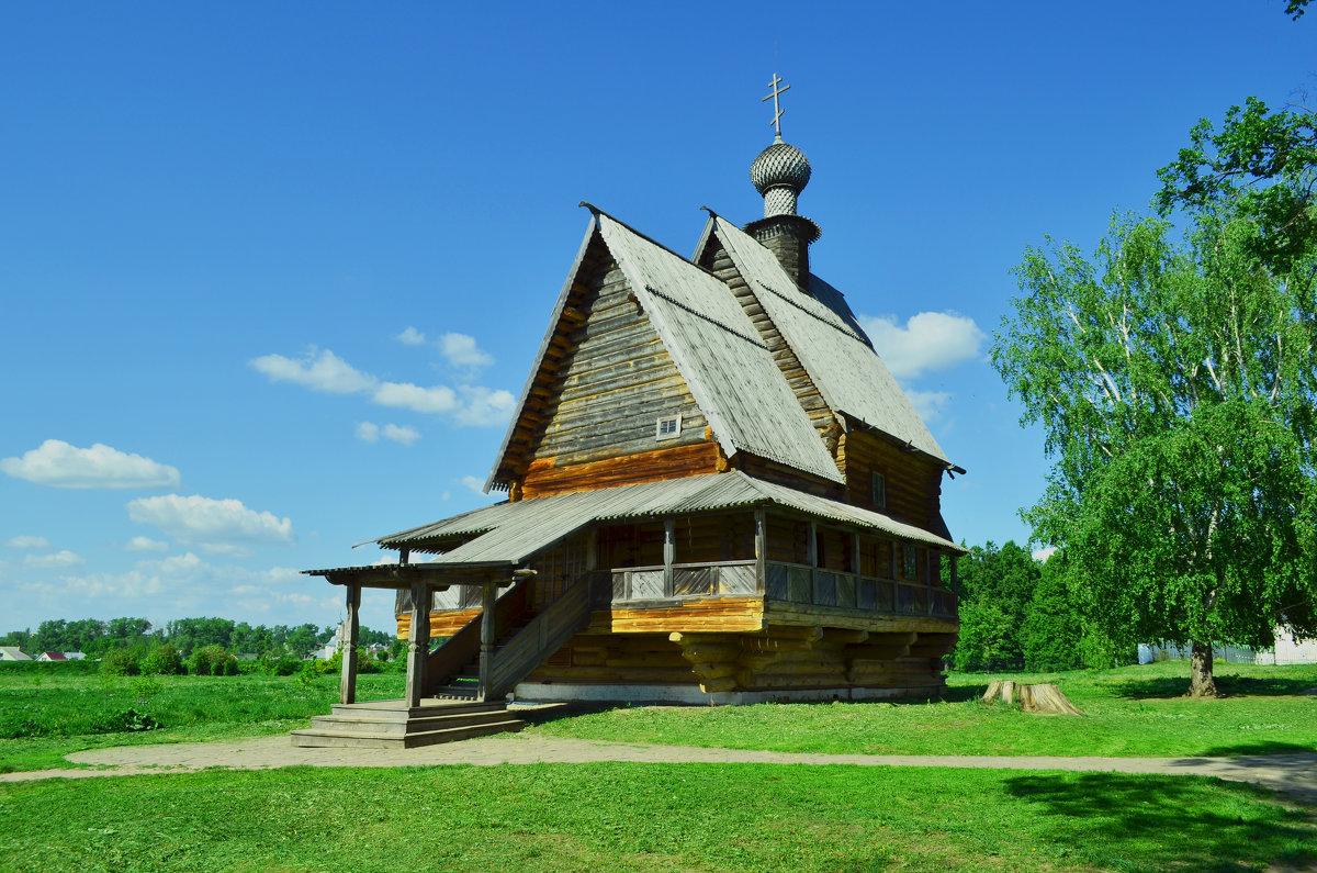 Никольская церквушка,Суздаль. - Анатолий
