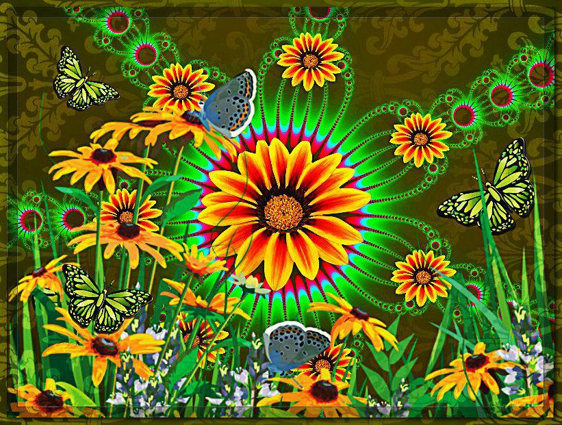 Цветочная поляна - Юлия Z
