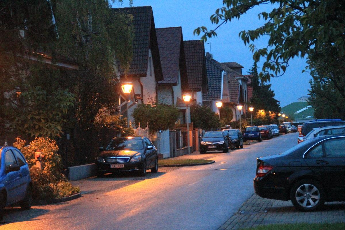 Тихий вечер в маленьком австрийском городке - Никита Иванов