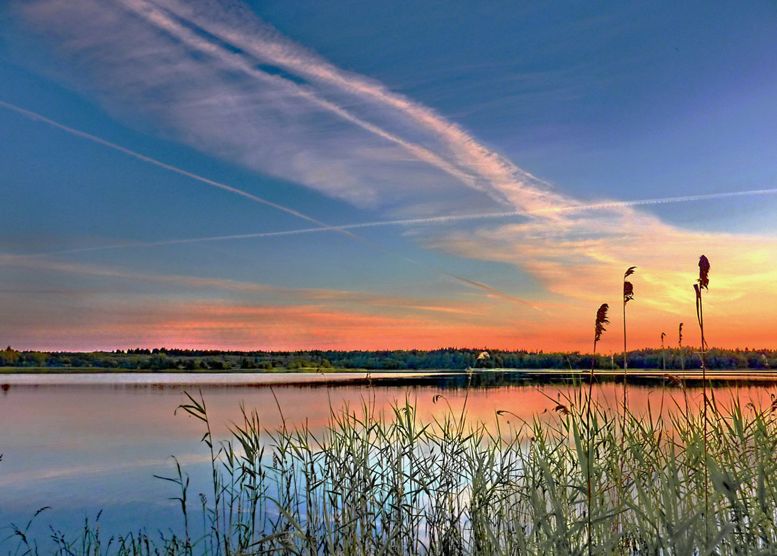 Закат на Ферапонтовом озере - Валерий Талашов