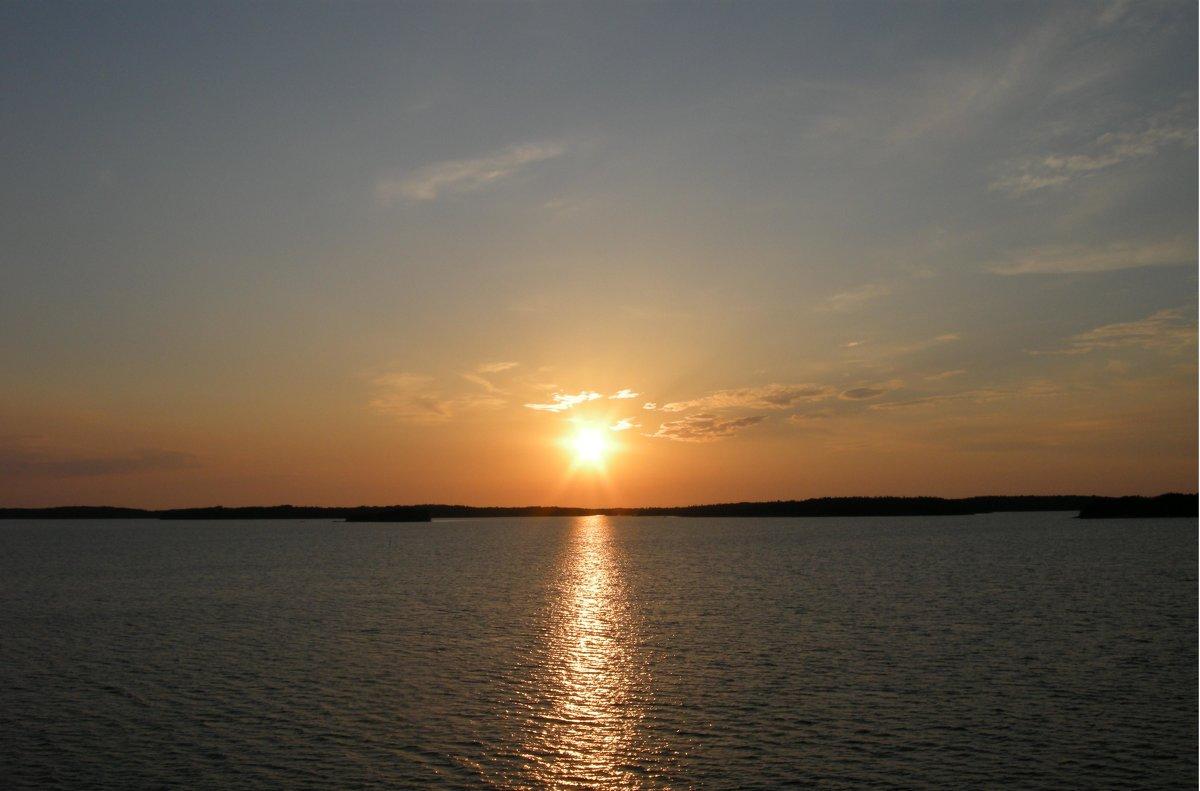 Закат на Балтийском море! - Эльф ```````