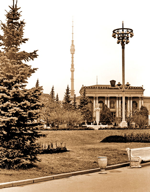 Москва- в районе ВДНХ - yuri Zaitsev