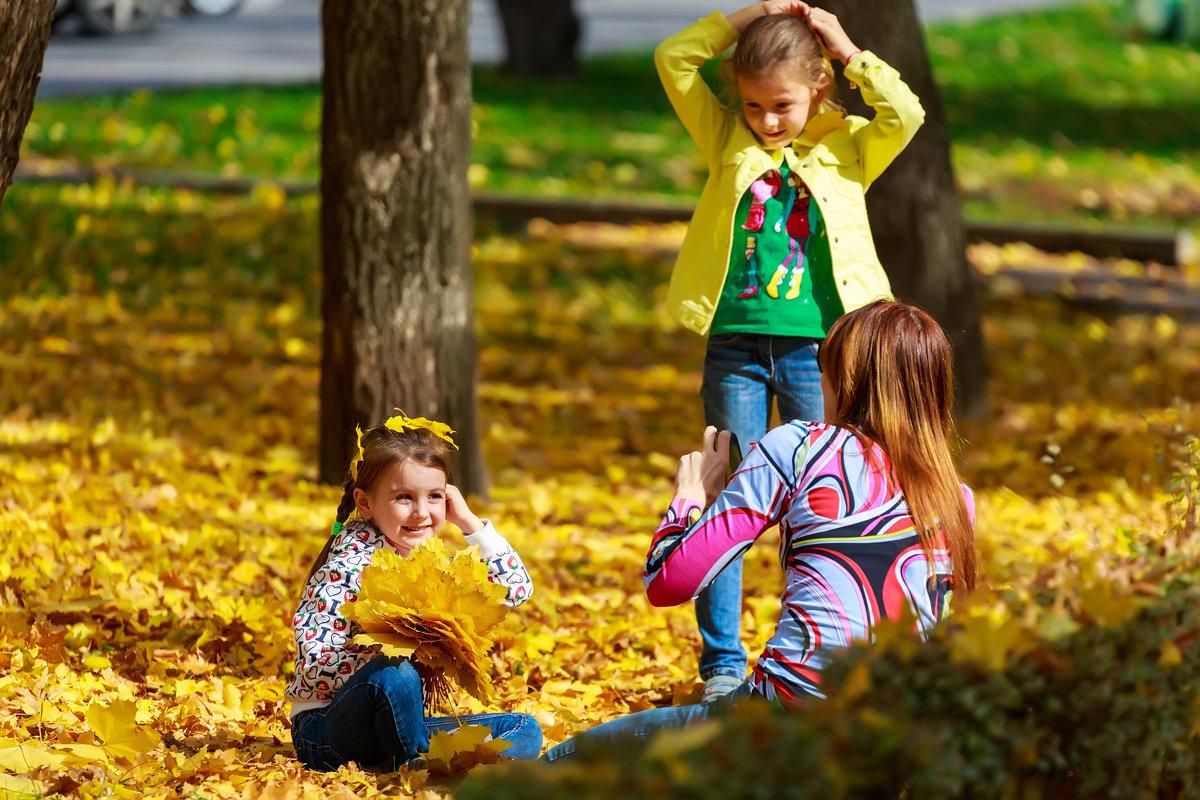 Осенняя фотосессия - Николай Николенко