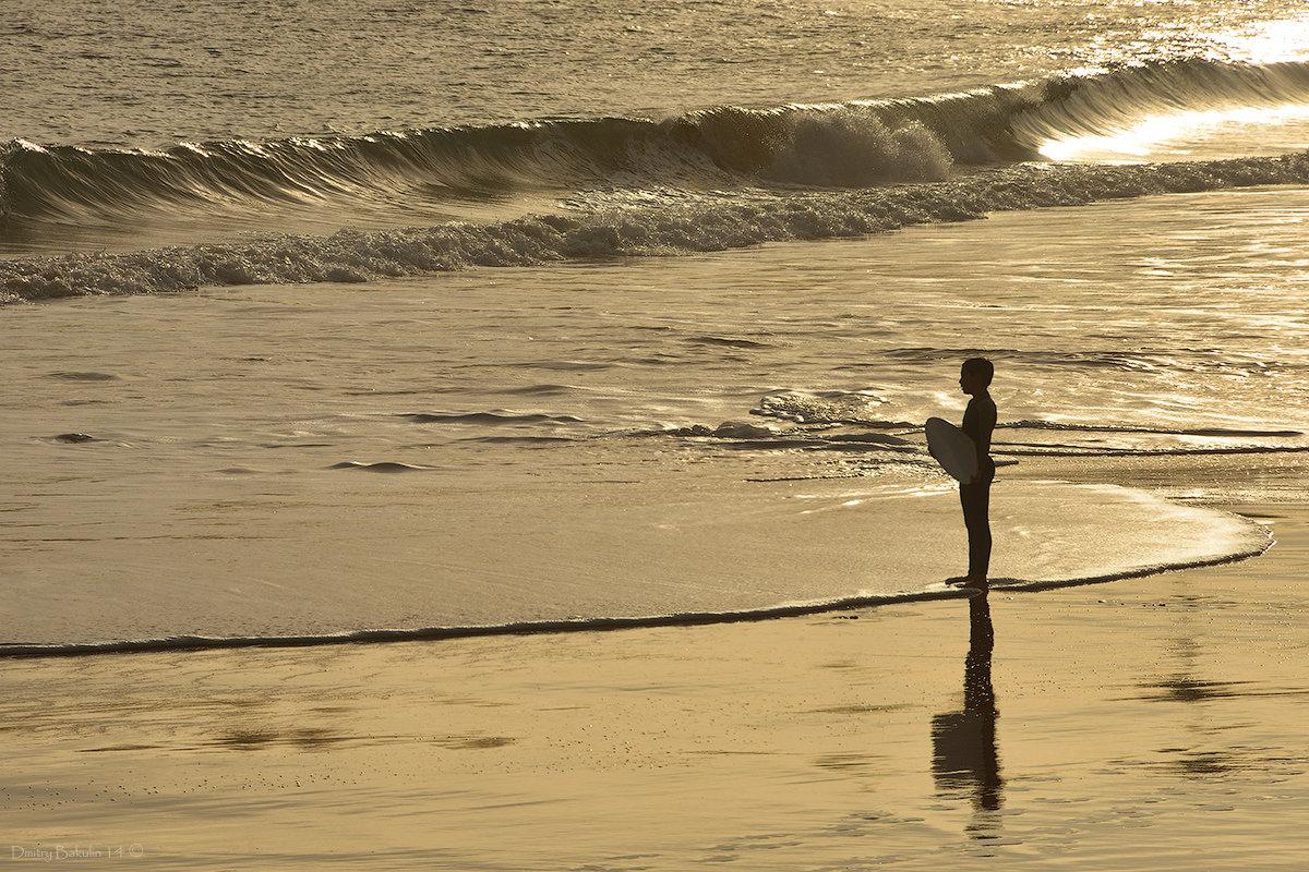 Мальчик и океан - Дмитрий Бакулин
