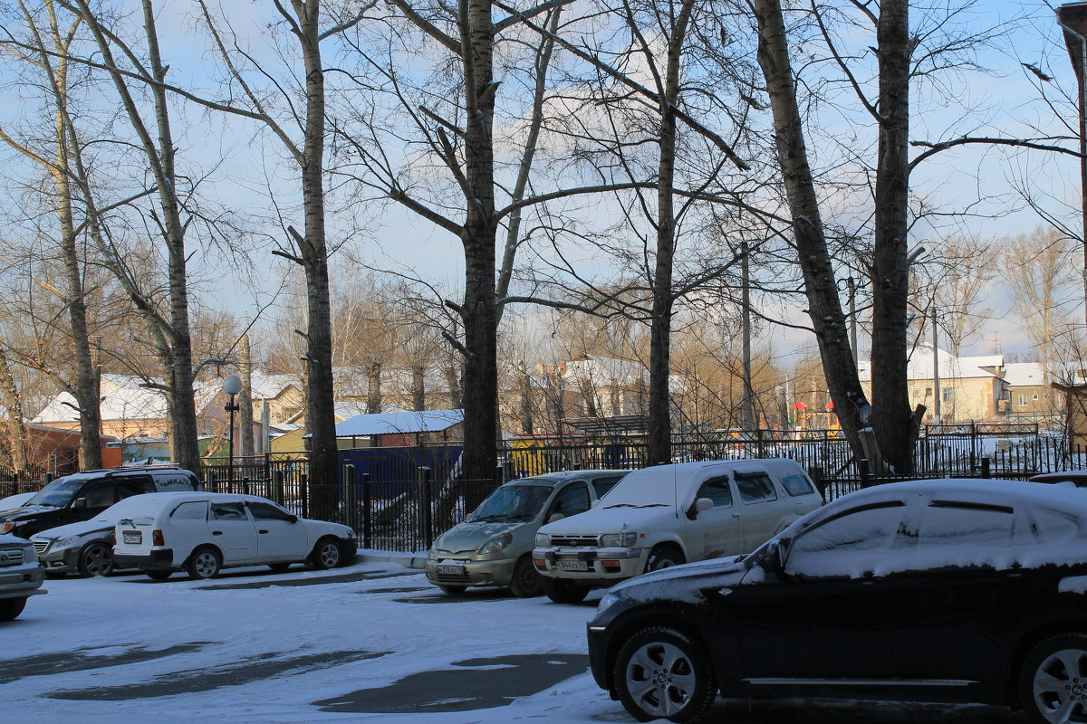 Вот и снег... - Олег Афанасьевич Сергеев