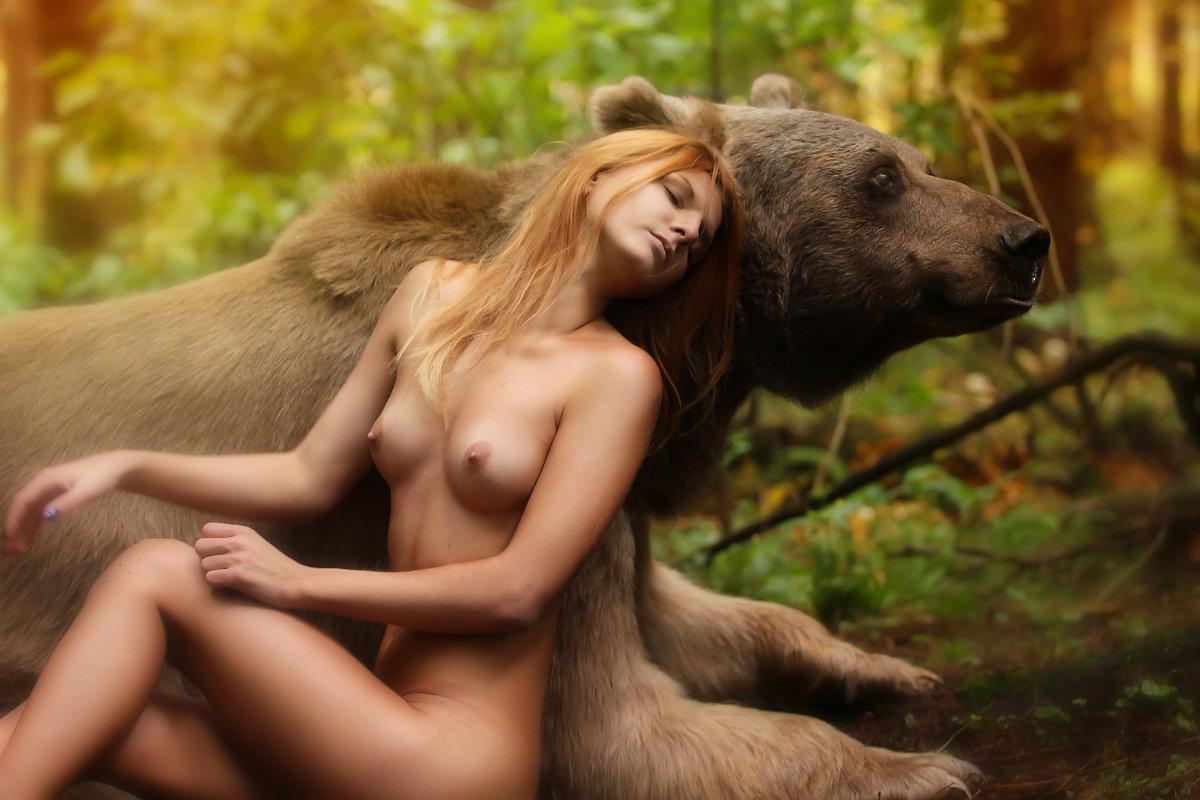 Смотрець порно медведь и настя 16 фотография