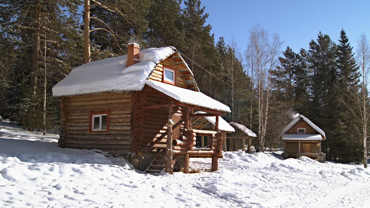 Зимняя прогулка в национальном парке Зюраткуль - Борис Емельянычев