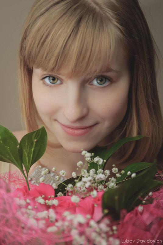 Нежная девушка - Любовь Давидович