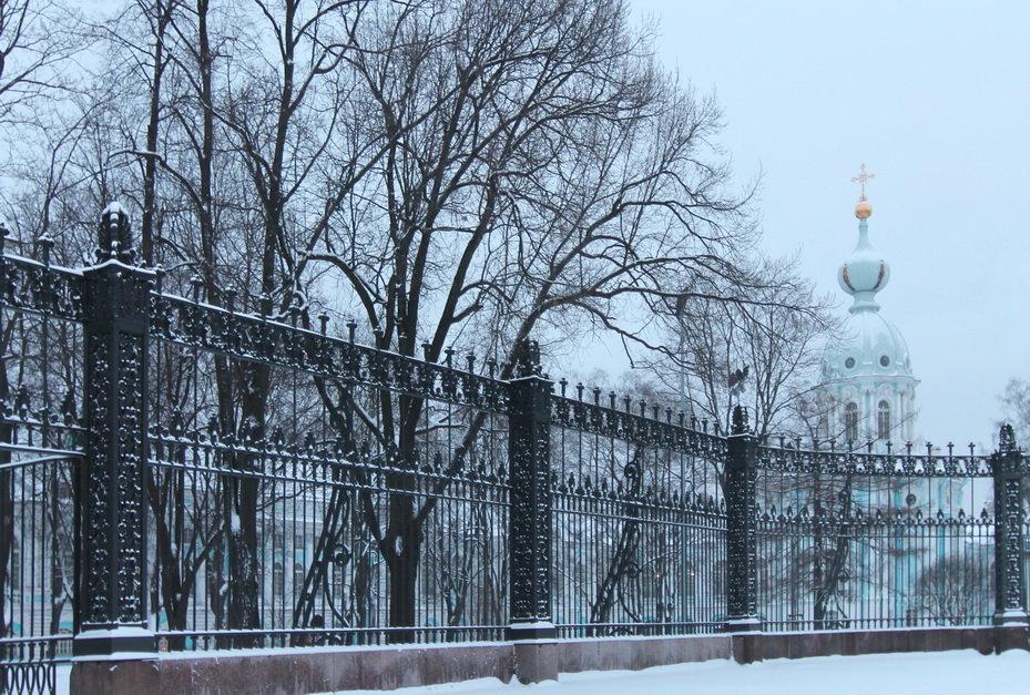 Зимний Смольный - Вера Моисеева