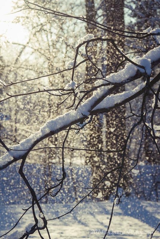 Под голубыми небесами великолепными коврами блестя на солнце снег лежит