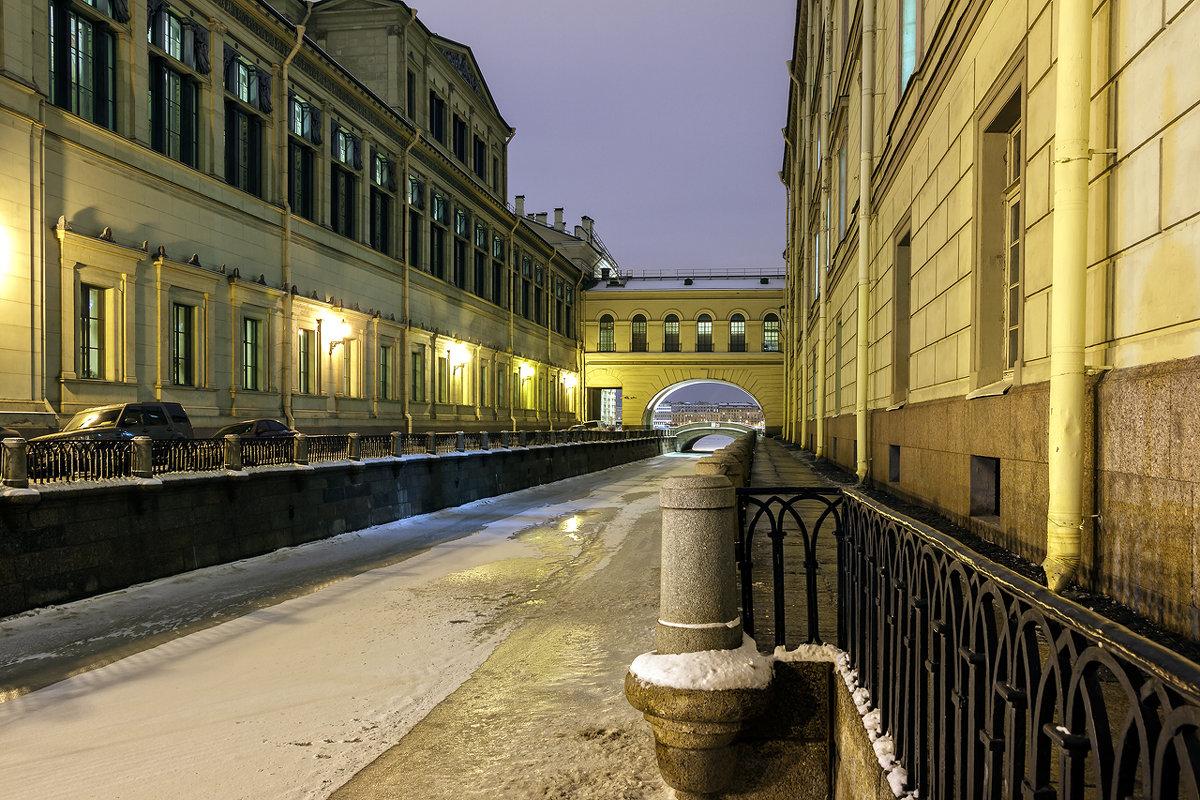 Санкт-Петербург, Зимняя канавка - Вадим Мирзиянов