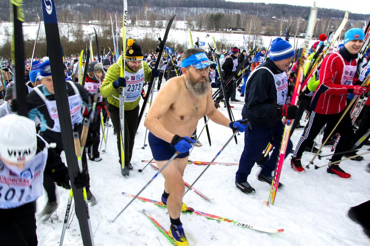 Московская лыжня 2015 - Василий Аникеев