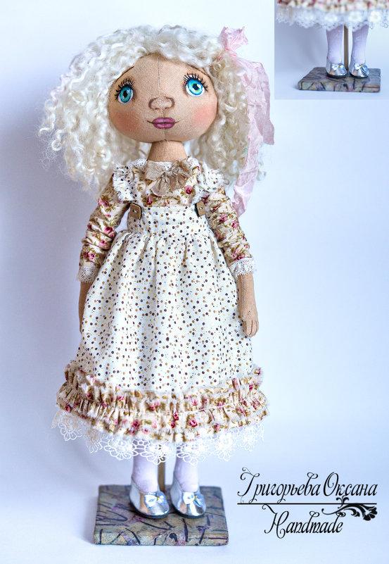 куклы ручной работы - Ольга Гребенникова