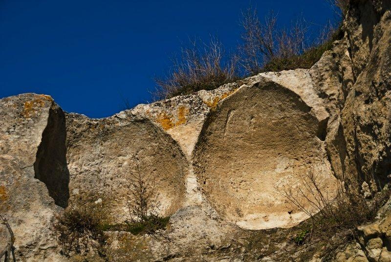 древние зернохранилища в разрезе - Сергей Леонтьев