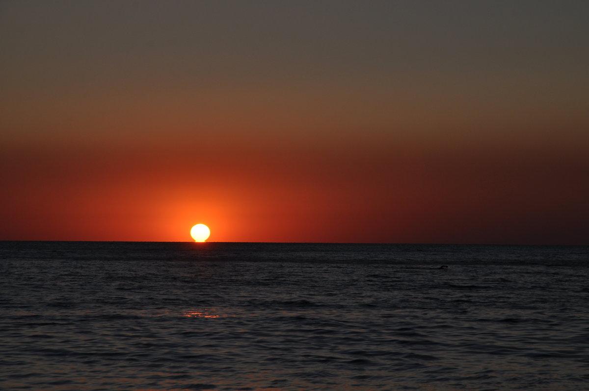 Закат. Черное море. - Олеся Енина