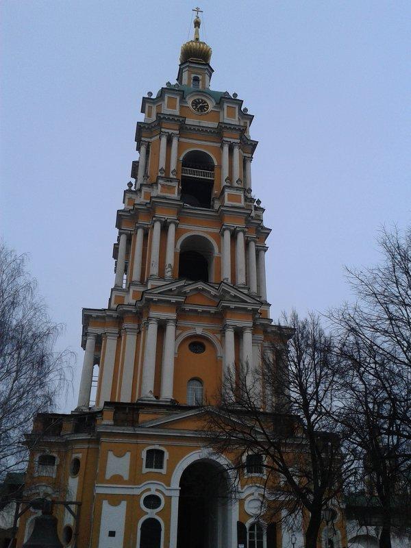 Колокольня Новоспасского монастыря - Аlexandr Guru-Zhurzh