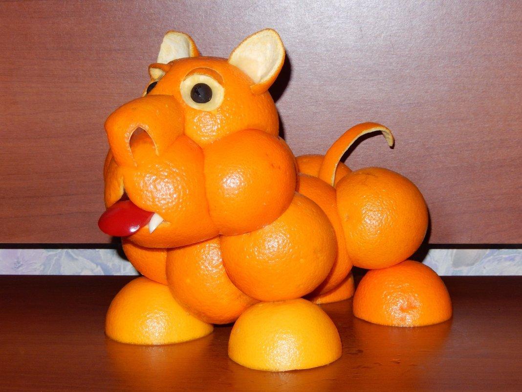 Поделка из апельсина в детский сад 25