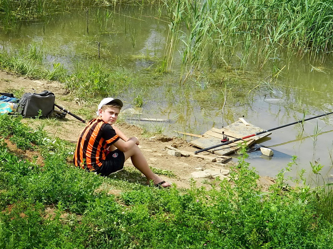 рыбалка на шахтеров