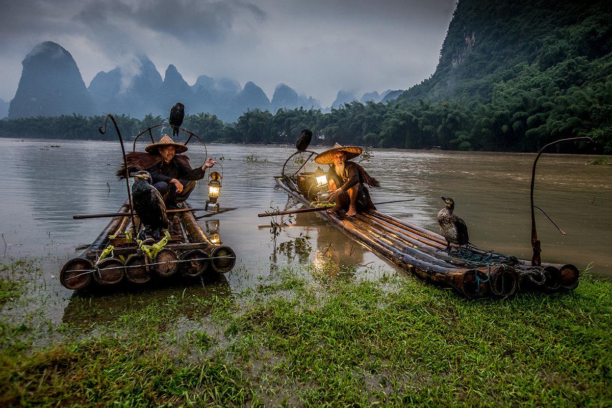 река бакланья рыбалка