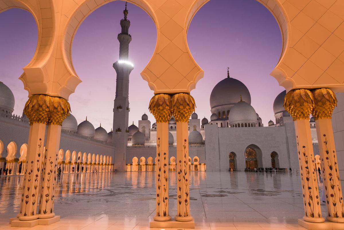 Мечеть Шейха Заеда. Абу-Даби - Николай Сигаев