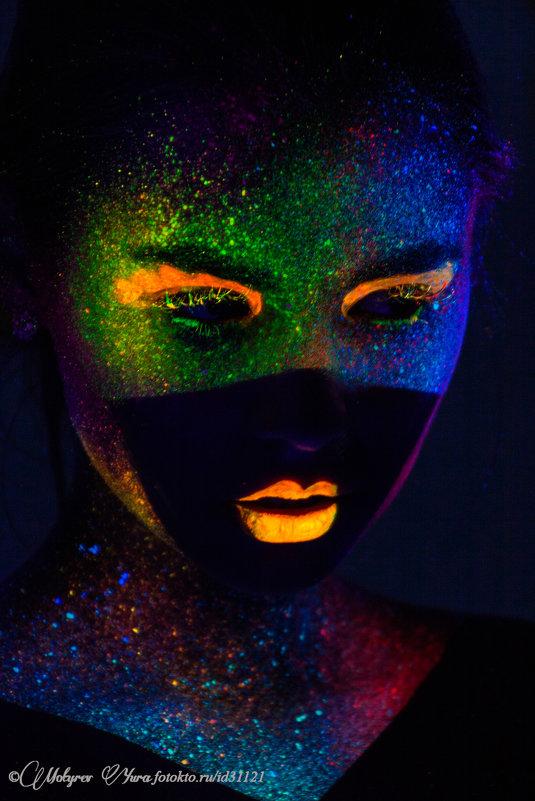девушка радуга - юрий мотырев