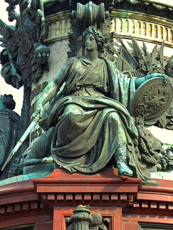 Памятник императору Николаю I - Сергей Карачин