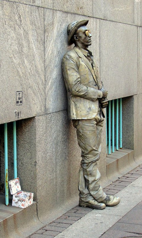 Живая скульптура - Сергей Карачин